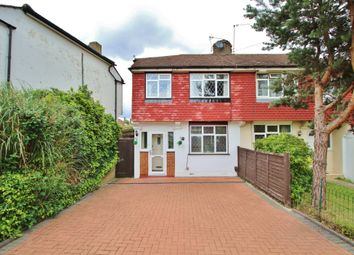 Thumbnail 3 bedroom end terrace house for sale in Knollmead, Surbiton, Surrey