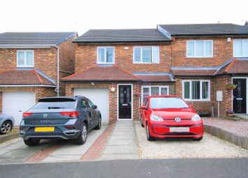 Thumbnail 3 bed semi-detached house for sale in Burnside Road, Rowlands Gill