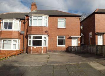 Thumbnail 3 bedroom flat for sale in Bavington Drive, Newcastle Upon Tyne