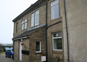 Thumbnail 1 bed flat to rent in 179 Halifax Road, Denholme