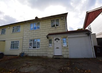 Thumbnail 3 bed semi-detached house for sale in Seddon Road, Morden