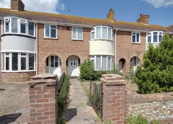 Thumbnail 3 bed terraced house for sale in Slindon Road, Broadwater, Worthing, West Sussex