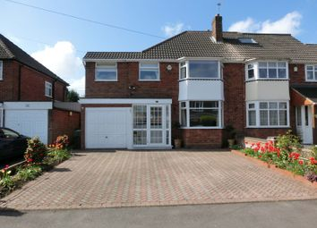 Thumbnail 3 bed semi-detached house for sale in Ann Road, Wythall, Birmingham