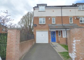Thumbnail 4 bed town house to rent in Nursery Mews, Morpeth