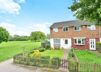 Thumbnail 3 bed end terrace house for sale in Carroll Close, Newport Pagnell, Milton Keynes, Bucks