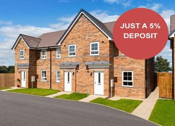 """Thumbnail 3 bedroom terraced house for sale in """"Palmerston"""" at Bedewell Industrial Park, Hebburn"""