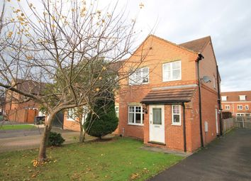 Thumbnail 3 bed semi-detached house for sale in Grange Close, Romanby, Northallerton