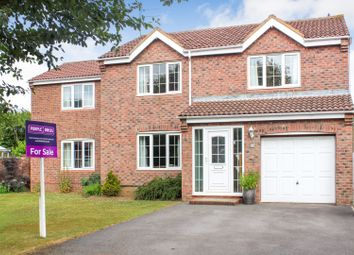 Thumbnail 5 bed detached house for sale in Berwick Chase, Peterlee