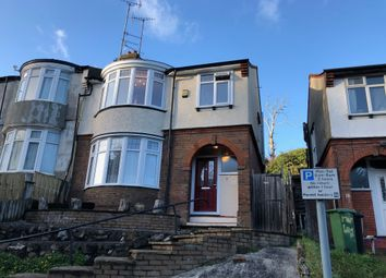 Thumbnail 3 bed semi-detached house to rent in Farley Hill, Luton