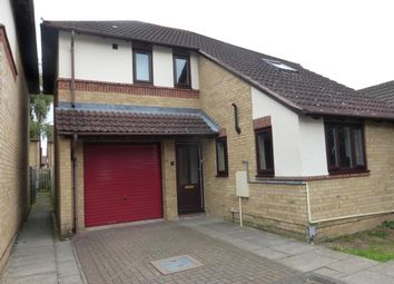 Thumbnail 3 bed detached house to rent in Hillgrounds Road, Kempston, Bedford