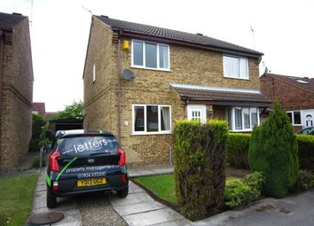 Thumbnail 2 bed semi-detached house to rent in Geldof Road, Huntington, York