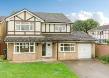 Thumbnail 4 bed detached house for sale in Naylor Avenue, Kempston, Bedford