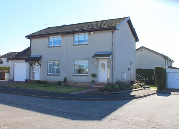 Thumbnail 2 bedroom semi-detached house for sale in The Cuillins, Uddingston, Glasgow