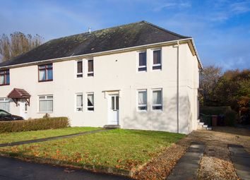 Thumbnail 2 bed flat for sale in Culzean Crescent, Kilmarnock