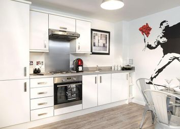 "Thumbnail 2 bedroom flat for sale in ""Lowesby"" at St. Georges Way, Newport"