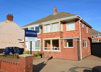 Thumbnail 3 bed semi-detached house for sale in Hawes Side Lane, South Shore, Blackpool