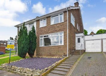 Thumbnail 4 bed semi-detached house for sale in Sundridge Drive, Walderslade, Chatham, Kent