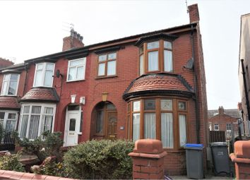 Thumbnail 3 bed end terrace house to rent in London Road, Blackpool