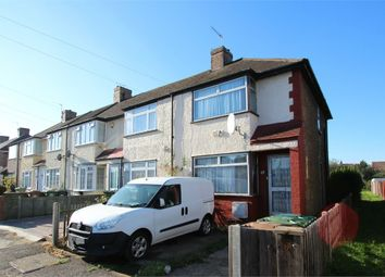 Thumbnail 3 bedroom end terrace house for sale in Hillingdon Avenue, Stanwell, Surrey