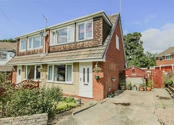 Thumbnail 3 bed semi-detached house for sale in Tewkesbury Close, Baxenden, Lancashire