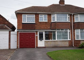 Thumbnail 3 bed semi-detached house for sale in Mayfield Road, Streetly, Sutton Coldfield