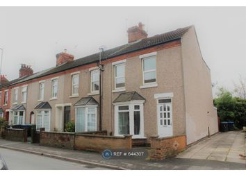 Thumbnail 3 bed terraced house to rent in Lower Hillmorton Road, Rugby