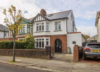 Thumbnail 4 bed semi-detached house for sale in Dyserth Road, Penarth