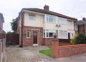 Thumbnail 3 bed semi-detached house for sale in North Manor Way, Liverpool