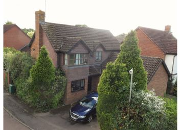 Thumbnail 4 bed detached house for sale in Woodward Close, Wokingham