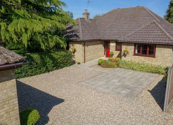 Thumbnail 4 bed detached bungalow for sale in Rattlesden Road, Drinkstone, Bury St. Edmunds