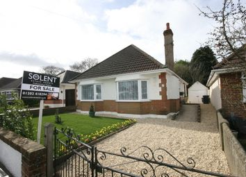 Thumbnail 3 bed detached bungalow for sale in Wicket Road, Bournemouth