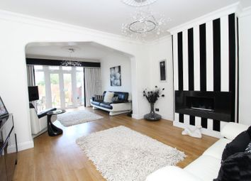 Thumbnail 3 bed semi-detached bungalow for sale in Pettits Lane North, Rise Park, Romford