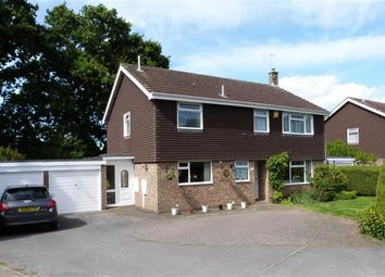 Thumbnail 4 bed detached house for sale in Sedgebrook, Swindon