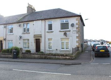 Thumbnail 1 bed flat for sale in Sharphill Road, Saltcoats