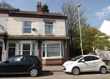 Thumbnail 3 bedroom end terrace house for sale in Factory Road, Birmingham, West Midlands