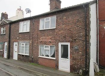 Thumbnail 2 bed terraced house for sale in Crewe Road, Wheelock, Sandbach