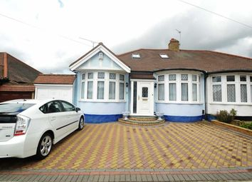 Thumbnail 4 bed semi-detached bungalow for sale in Leigh Avenue, Redbridge, Essex