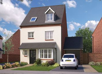 "Thumbnail 4 bed town house for sale in ""The Wimborne"" at Saxon Court, Bicton Heath, Shrewsbury"
