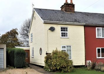 Thumbnail 2 bed semi-detached house for sale in Hocklesgate, Fleet, Holbeach, Spalding