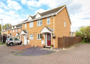 Thumbnail 2 bed semi-detached house for sale in Whitegate Close, Swavesey, Cambridge