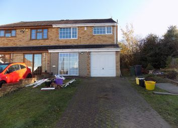 Thumbnail 3 bed semi-detached house to rent in Quarry Bank, Brierley Hill, West Midlands