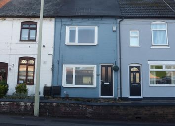 Thumbnail 2 bed terraced house to rent in Watling Street, Wilnecote, Tamworth