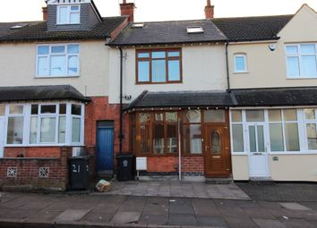 Thumbnail 4 bed terraced house for sale in Leicester, Leicestershire