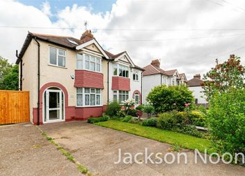 Thumbnail 3 bed semi-detached house for sale in Chessington Road, West Ewell, Epsom