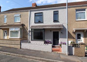 Thumbnail 3 bed terraced house for sale in Fern Street, Cwmbwrla, Swansea