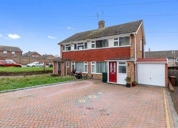 Thumbnail 3 bed semi-detached house for sale in Cradlebridge Drive, Willesborough, Ashford