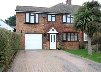 Thumbnail 3 bedroom semi-detached house for sale in Glendevon Road, Woodley, Reading, Berkshire