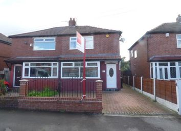 Thumbnail 2 bed semi-detached house for sale in Tennyson Road, Reddish, Stockport, Greater Manchester