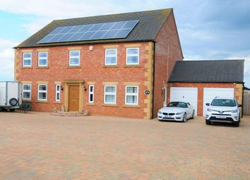 Thumbnail 4 bed detached house for sale in Sutterton Drove, Amber Hill, Boston