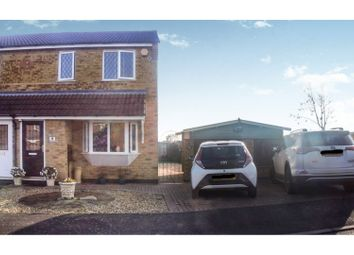 Thumbnail 3 bed semi-detached house for sale in Avocet Close, Stamford